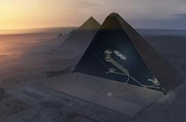 Внутри Великой пирамиды Гизы обнаружили новые загадочные пустоты