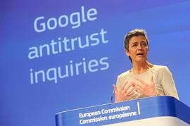 Еврокомиссия оштрафовала Google на рекордные $5 млрд