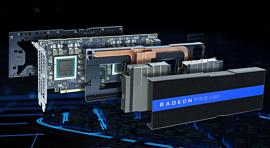 AMD выпустила мощную двойную видеокарту Radeon Pro V340