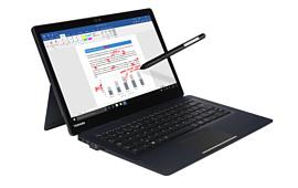 Toshiba показала новый бизнес-ноутбук Portege X30T