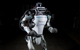 Видео: Boston Dynamics научили робота Atlas паркуру