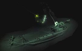 На дне Черного моря обнаружили корабль, которому больше 2400 лет