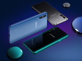 Samsung официально анонсировала Galaxy A8s с дисплеем Infinity-O