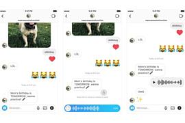 В Instagram для iOS и Android появились голосовые сообщения