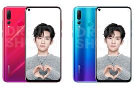 Утечка: рендеры Huawei Nova 4