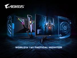 Gigabyte представила «тактический» игровой монитор Aorus AD27QD
