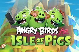 На iPhone выпустят новую игру Angry Birds AR: Isle of Pigs
