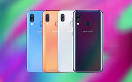 Samsung анонсировала среднебюджетный смартфон Galaxy A40