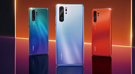 Huawei анонсировала флагманские смартфоны P30 и P30 Pro