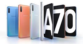 Samsung показала новый смартфон Galaxy A70