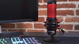 HyperX представила новый микрофон со встроенным поглотителем вибрации