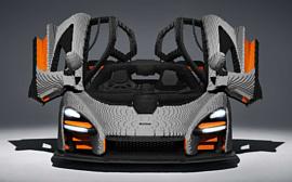 McLaren Senna из LEGO весит больше оригинала