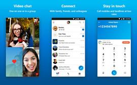 Android-версия Skype без спроса отвечает на звонки