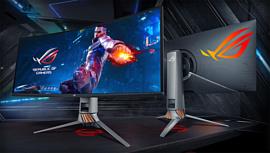 Asus представила новый 34-дюймовый геймерский монитор с G-Sync