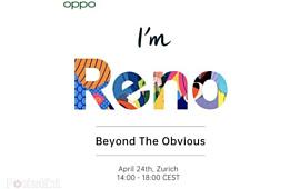 Флагманский Oppo Reno с 10-кратным зумом и 5G покажут 24 апреля