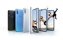Samsung Galaxy A70 начнут продавать в конце апреля