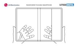 LG запатентовала прозрачный гибкий смартфон