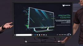 Predator CG437K P — новый 43-дюймовый 4K-монитор Acer