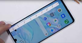 Видео: Huawei P30 Pro с блеском пережил тест на выносливость
