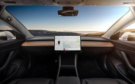 Tesla продемонстрировала авто без рулевого управления