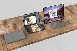 Дизайнер показал концепт MacBook с гибким экраном