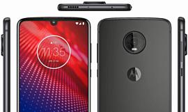 Утечка: рендер Motorola Moto Z4
