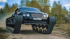 Механик из России сделал из Bentley «ультратанк»