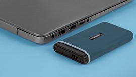 Transcend показала скоростной портативный SSD-накопитель ESD350C