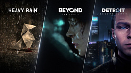Quantic Dream назвала даты выхода ПК-версий Heavy Rain, Beyond: Two Souls и Detroit: Become Human
