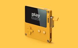 Panic Playdate — привлекательная карманная консоль с играми от авторов Katamari и Getting Over It