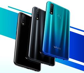 Vivo представила среднебюджетный смартфон Z5x с тройной камерой