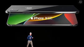 Apple получила новый патент на гибкий смартфон