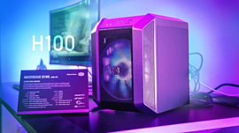MasterCase H100 — новый корпус формата mini-ITX от Cooler Master