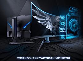 Gigabyte представила новые геймерские мониторы Aorus CV27F и KD25F