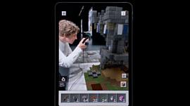 Microsoft впервые продемонстрировала Minecraft Earth