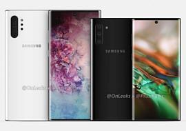 В сеть попали рендеры Samsung Galaxy Note 10 Pro