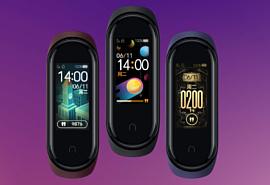 Xiaomi представила умный браслет Mi Band 4 с NFC и цветным экраном