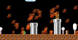 Фанат Super Mario Bros. создал тематическую «королевскую битву» на HTML5