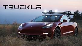 Ютюберша превратила свою Tesla Model 3 в пикап