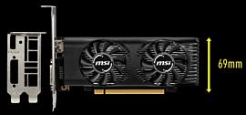 MSI выпустила низкопрофильную видеокарту GeForce GTX 1650