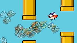 Flappy Bird совместили с Fortnite