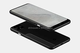 Утечка: новые рендеры Google Pixel 4 XL