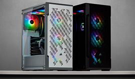 iCue 220T RGB Airflow — новый необычный корпус для ПК от Corsair