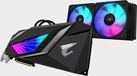 Gigabyte показала две новые видеокарты RTX 2080 Super с жидкостным охлаждением
