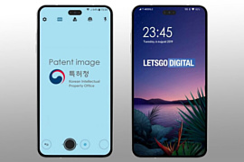 LG готовит флагманский смартфон с отверстием для селфи-камеры