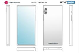LG запатентовала новый гибкий смартфон