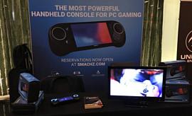 Портативный игровой ПК Smach Z оснастят новым процессором AMD V1807B