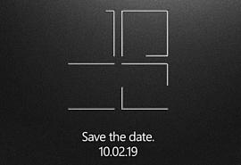 Microsoft проведет презентацию новых Surface в начале октября