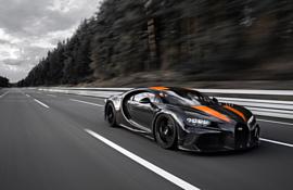 Видео: Bugatti Chiron побил рекорд скорости и разогнался до 490.5 км/ч