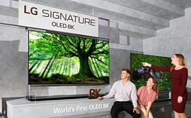 LG показала 8K-телевизоры с OLED- и NanoCell-панелями